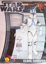Disney Star Wars Clone Trooper Halloween Costume Mask Size Small Childs 4-6 New