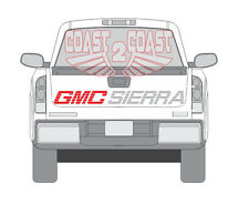 GMC SIERRA 454ss type of decal 454 ss 90-2016 tailgate truck 1500 single cab