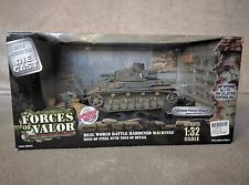Forces of Valor German Panzer IV Ausf. F Eastern Front 1941 Unopened Box Sealed