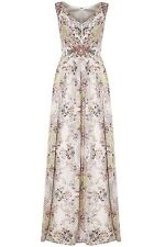 Monsoon Boho Embellished Maxi Dress UK 14