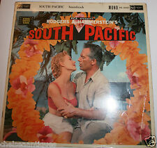 "SOUTH PACIFIC 1958 Film Soundtrack Vintage 12"" Vinyl LP Rodgers & Hammerstein"