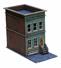 City block townhouse 28mm laser cut mdf building C024