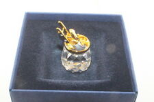 Swarovski Crystal Memories Weather Frog  Gold 289644, MIB Never Displayed
