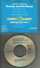 JAMES GALWAY Beauty and the Beast 1TRK USA MINT 1992 PROMO Radio DJ CD single