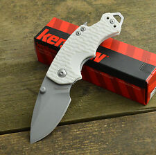 Kershaw Shuffle White K-Texture 8Cr13MoV Linerlock Knife 8700SNOW