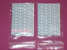 Supertape True Blue Lace  Weft  Hair Extensions 120 Tabs.