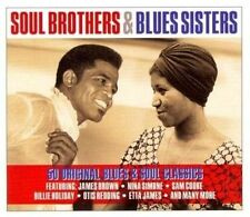 V/A - Soul Brothers & Blues Sisters EX COND 2CD JAMES BROWN NINA SIMONE 50 TRACK