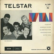 7'EP The Tornadoes   Telstar/Jungle Fever/+2   JOE MEEK  DECCA CLUBEDITION