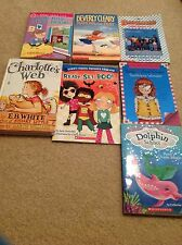 Kids Chapter Book Lot -7 Books - Candy Apple, Julie B, Dolphin Schl Ramona Lot22