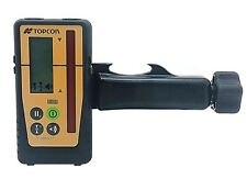 New Topcon LS-100D Rotating Laser Level Detector with Rod Mount & Priority Mail