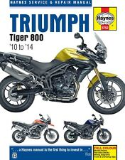 Triumph Tiger 800 2010 - 2014 Haynes Manual 5752 NEW