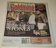 GOLDMINE MAGAZINE  AUG. 22, 2003 /  THE ROLLING STONES, BRITISH INVASION ISSUE