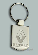 Engraved RENAULT Design - Free Personalised  Metal Keyring Boxed