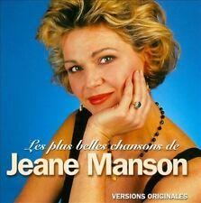 Les Plus Belles Chansons de Jeane Manson New CD