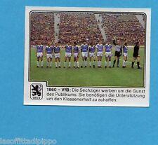 GERMANIA FUSSBALL 80-PANINI-Figurina n.249- 1860  MUNCHEN -Rec