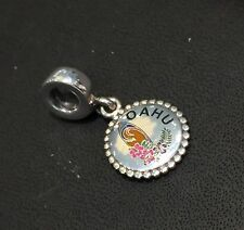 NEW RARE AUTH PANDORA HAWAII L/E EXCLUSIVE OAHU SURF S925 ALE CHARM DANGLE w/BOX