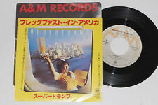 "SUPERTRAMP -Breakfast In America / Lord Is...- 7"" 45 Japan Pressung Topzustand!!"
