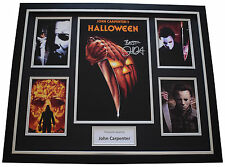 John Carpenter SIGNED Framed Photo Autograph Huge display Halloween Film & COA