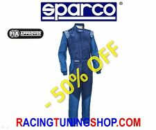 SPARCO RALLY RACING FIREPROOF SUIT SPARCO RS-5 SIZE 66 FIA 8856-2000 OVERALL