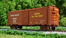 Atlas Trainman 21000064 – 1937 40′ Box Car Kit – UP 188326 – HO