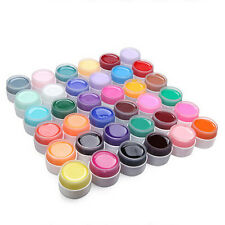 Pure Color UV Nail Polish Gel Decor DIY Nail Art Tips Manicure Decoration
