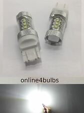 CANBUS CREE LED XENON WHITE 7443 W21/5W T20 DRL DAYTIME RUNNING LIGHT BULB