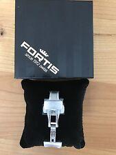 FORTIS Faltschließe,  20mm, für B-42 und F-43 Modelle mit Lederarmband, Neu!