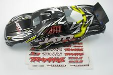 NEW TRAXXAS JATO 3.3 YELLOW BODY PAINTED WITH STICKERS