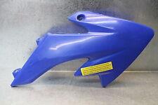 Mini Dirt Pocket Bike Side Cover Plastic Radiator Shroud Right Blue Cowl