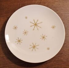 "2 Royal China STAR GLOW 9-1/2"" Luncheon Plates EXCELLENT"