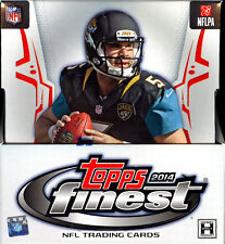 2014 TOPPS FINEST FOOTBALL HOBBY MINI BOX FACTORY SEALED NEW