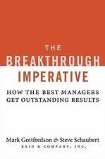 Mark Gottfredson - Breakthrough Imperative (2008) - Used - Trade Cloth (Har