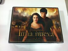 BOX COFRE TWILIGHT Crepusculo - Luna Nueva NEW MOON Collector Ed 2 DVD - SEALED!