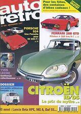 AUTO RETRO n°205 12/1997 FERRARI 288 GTO DS