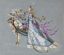 Cross Stitch Chart / Pattern ~ Mirabilia The Snow Queen #MD143