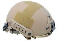 COOL New Airsoft CS Protective FMA Ballistic Helmet DE PA326 L/XL