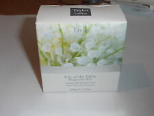 taylor of london - luxury perfumed soap - lily of the valley - white -100g
