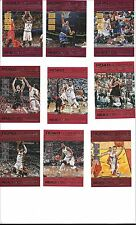 2016-17 PANINI NBA HOOPS 51-CARD ROAD TO THE FINALS SECOND ROUND LOT /999