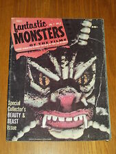 FANTASTIC MONSTERS OF THE FILMS #5 VG (4.0) HORROR MAGAZINE 1962