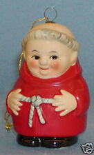 One (1) GOEBEL Friar Tuck Ornament-4 Colors Available- 1 Red (Cardinal) Ornament
