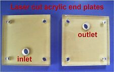HHO END PLATES  X 2    MAKE YOUR OWN DRY CELL