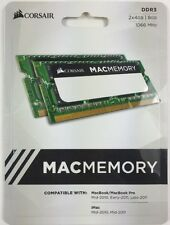 Corsair Mac Memory 8GB (2x4GB) Memory Kit PC3-8500 1066MHz DDR3 DIMM (SODIMM)