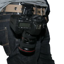 Quick Release Loading Holster Waist Belt Buckle Button Hanger for All SLR Camera