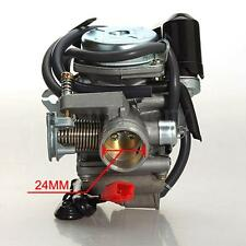 24MM 110/125/150cc GY6 Scooter Moped Carburetor Carb For ATV Gokart Roketa