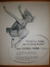 Ovaltine Gloria Nord ice dancer advert UK 1953
