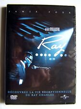 RAY - TAYLOR HACKFORD - LE FILM BIOPIC SUR RAY CHARLES - DVD NEUF ET EMBALLE -