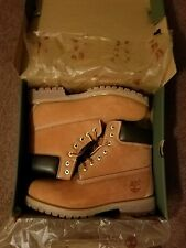 NEW MENS TIMBERLAND 6 INCH BOOTS WHEAT SIZE 10.5