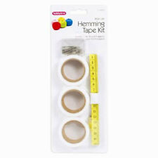 Hemming Tape Kit Sewing Sew Fabric Tools Pins Tape Measure Leathercraft Craft