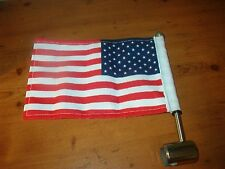 PRO PAD MOTORCYCLE FLAG AND POLE HARLEY DAVIDSON INDIAN - BEAUTIFUL