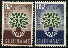 Suriname 1960 SG#467-8 World Refugee Year MNH Set #D34370